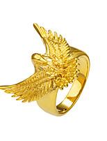Damen Herrn Statementringe Ring Basis Tier Design Modisch Punkstil Rock Gothic Kupfer Tierform Eagle Schmuck FürBesondere Anlässe