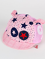 Kids' Cap Star Pattern Soft Brim Cartoon Ears Hat