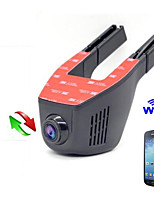 Hidden Car DVR  Dash Cam  Car Camera WIFI 1080P Car DVR Full HD Night Vision Motor Vehicle Camera Support Andriod and IOS  APP