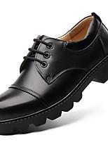 Для мужчин Туфли на шнуровке Формальная обувь Кожа Осень Зима Для вечеринки / ужина Work & Safety Формальная обувь Черный Кофейный2,5 -