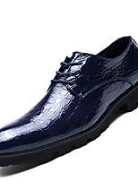 Masculino Mocassins e Slip-Ons Sapatos formais Couro Ecológico Primavera Outono Escritório & Trabalho Festas & Noite Cadarço Rasteiro