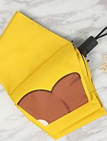 Female Folding Sun And Rain Dual Sun Umbrella Sun Protection Against Ultraviolet Rays
