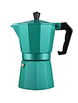 Mocha Boutique Color Aluminum Octagonal 6 People Hand Coffee Equipment