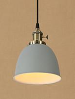 Lampe suspendue ,  Artistique Rétro Rustique Peintures Fonctionnalité for Style mini Protection des Yeux Designers MétalSalle de séjour