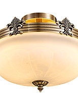 Full Copper Classic Crystal Ceiling Lamp LH