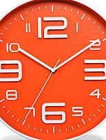Moderno/Contemporâneo Regional Escritório/Negócio Náutico Férias Casamento Relógio de parede,Redonda Inovador Metal Plástico Interior