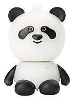 Cartoon panda en plastique 128gb usb2.0 mémoire flash haute vitesse u memory memory stick