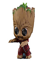 Figures Animé Action Guardians of the galaxy groot Inspiré par Cosplay Cosplay PVC 8 CM Jouets modèle Jouets DIY