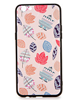For OPPO R9s  R9s Plus Case Cover Pattern Back Cover Case leaves Geometric Pattern Hard PC R9 R9 Plus