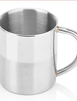 Indoor Casual/Daily Drinkware, 250 Stainless Steel Juice Milk Daily Drinkware Tea Cup Water Bottle Coffee Mug
