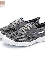 Da uomo Sneakers Comoda Tulle Primavera Casual Grigio Blu marino Piatto