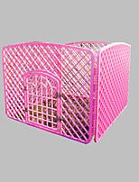 Dog Bed Pet Baskets Solid Foldable Durable Blushing Pink Light Blue