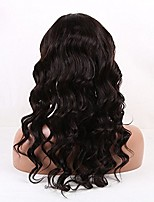 New Hairstyle Natural Wave 360 Lace Wig Human Virgin Hair 130% Density Black Color Wig with Baby Hair for Black Women