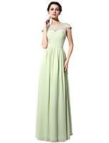 Kleid Eng anliegend Boden-Länge mit
