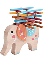 Building Blocks For Gift  Building Blocks Elephant Wood Toys