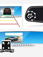 Night Vision Car Dvr detector Camera Blue Review Mirror DVR Digital Video Recorder Auto Camcorder Dash Cam FHD 1080P