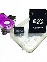 8GB de cartão de memória microsdhc tf com leitor de cartão 2 em 1 usb otg micro usb otg