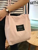 Women's Shoulder Bag Suede All Seasons Casual Shopper Hook and Loop Mint Green Dark Green Blushing Pink Black White