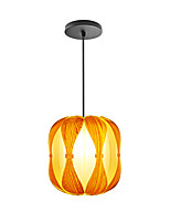D-06P  Modern LightsLayered Wood Artichoke Ceiling Pendant Light /Not Included Light Bulb
