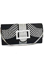 Women Shining Full Diamonds Clutches Evening Bags Gold/Silver/Black