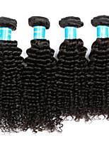 Tissages de cheveux humains Cheveux Péruviens Très Frisé 12 mois 4 Pièces tissages de cheveux