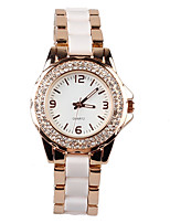 Women's Fashion Watch Japanese Quartz / Alloy Band Casual Rose Gold