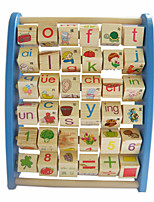 Building Blocks Educational Flash Cards For Gift  Building Blocks Wood 2 to 4 Years 5 to 7 Years Toys