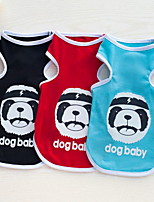 Other Clothes/Jumpsuit Dog Clothes Cute Casual/Daily Animal Pool Ruby Black