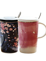 Casual/Daily Drinkware, 400 Ceramics Juice Milk Daily Drinkware Tea Cup