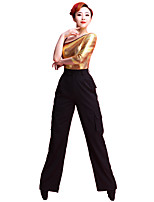 Latin Dance Bottoms Women's Performance 70% Polyester 30% Rayon