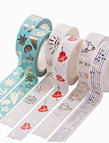 DIY Gilding Decorative Album Stickers & Tapes 1PC More Color Choose