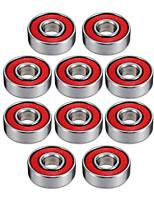 608r 21mm x 7mm Metall geschirmte Radialkugellager tiefe Rillenkugellager für Zetter Spinner Spielzeug --- 10 Stk
