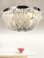 Stream Ceiling Light  Modern/Contemporary Aluminium Chain Led Flush Mount for living Room Bedroom