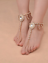 Women's Anklet/Bracelet Imitation Pearl Alloy Handmade Fashion Vintage Drop Jewelry For Daily Casual 1 pcs