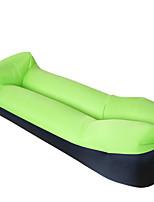 HHY210T Anti Tear Plaid Fabric Pillows Sofa Air Sofa Portable Outdoor Inflatable Sofa Color Puzzle Sleeping Bag Bed