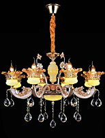 Pendant Light ,  Traditional/Classic Electroplated Feature for Crystal Mini Style Metal Living Room Bedroom Dining Room Entry Hallway8