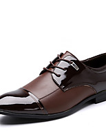 Men's Boots Formal Shoes Bullock shoes Microfibre Leather Spring Summer Fall Winter Wedding Office & Career Party & Evening Walking