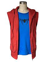 Cosplay Costumes Spider Movie Cosplay Hoodie Halloween Christmas Carnival Men's Polar Fleece