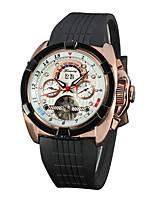 Мужской Нарядные часы Часы со скелетом Модные часы Китайский С автоподзаводом Натуральная кожа Группа Разноцветный