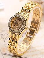 Mulheres Relógio de Moda Relógio de Pulso Único Criativo relógio Relógio Casual Quartzo Lega BandaPendente Legal Casual Criativo Luxuoso