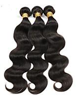 Tissages de cheveux humains Cheveux Brésiliens Ondulation naturelle 6 Mois 1 Pièce tissages de cheveux