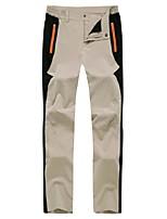 Homens Calças Acampar e Caminhar Alpinismo Esportes de Neve Downhill SnowboardImpermeável Respirável Secagem Rápida A Prova de Vento