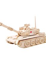 Jigsaw Puzzles 3D Puzzles Building Blocks DIY Toys Tank Wooden