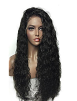 Cheap 150% Density Glueless Lace Front Human Hair Lace Wigs with Baby Hair Brazilian Curly Lace Front Wigs Natural Hairline 100% Human Hair No Tangle