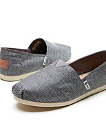 Men's Sneakers Comfort Fabric Spring Casual Gray Navy Blue Flat