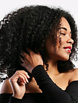Jerry Curl Pre-loop Crochet Braids Natural Black Hair Braids 14Inch Kanekalon 5 Package For Full Head