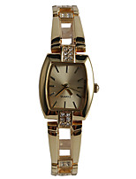 Women's Fashion Watch Bracelet Watch Japanese Quartz / Alloy Band Casual Gold