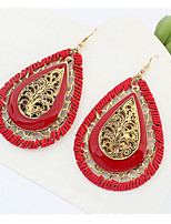 Europe and the United States to restore ancient ways Bohemia droplets woven earrings
