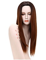 I's a wig Synthetic Wigs for Black Women Long Straight Ombre Blonde Hair