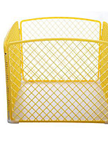 Dog Bed Pet Covers Solid Breathable Foldable Yellow
